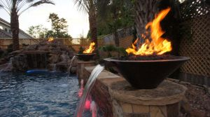 Fountain & Water Features #024 by The Pool Man Inc