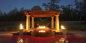 Fountain & Water Features #025 by The Pool Man Inc