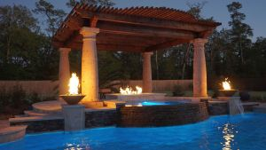 Fountain & Water Features #030 by The Pool Man Inc