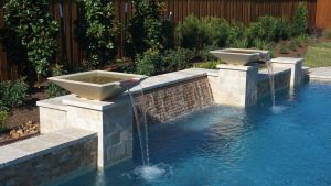 Fountain & Water Features #032 by The Pool Man Inc