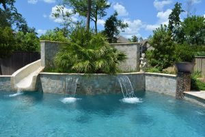 Fountain & Water Features #033 by The Pool Man Inc