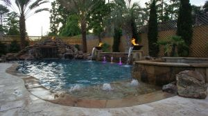 Fountain & Water Features #037 by The Pool Man Inc
