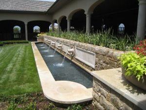 Fountain & Water Features #042 by The Pool Man Inc