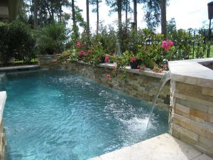 Fountain & Water Features #043 by The Pool Man Inc