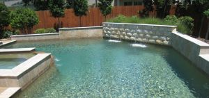 Fountain & Water Features #045 by The Pool Man Inc