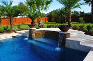 Fountain & Water Features #046 by The Pool Man Inc
