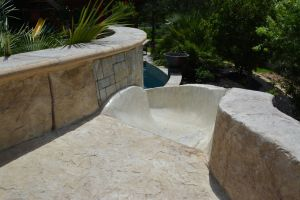 Fountain & Water Features #049 by The Pool Man Inc