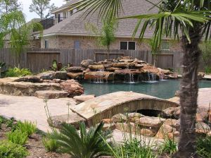Fountain & Water Features #052 by The Pool Man Inc