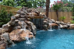 Fountain & Water Features #054 by The Pool Man Inc