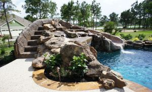 Fountain & Water Features #058 by The Pool Man Inc