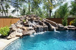 Fountain & Water Features #062 by The Pool Man Inc