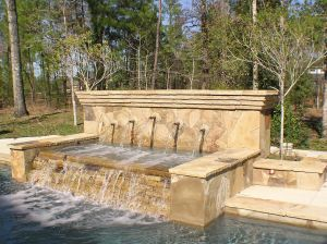 Fountain & Water Features #016 by The Pool Man Inc