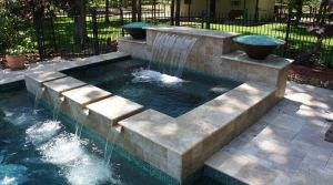 Fountain & Water Features #019 by The Pool Man Inc