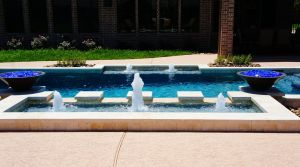Fountain & Water Features #020 by The Pool Man Inc