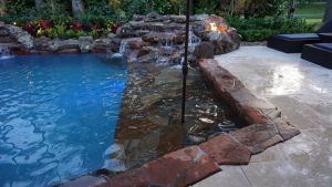 Fountain & Water Features #007 by The Pool Man Inc