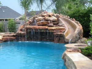 Fountain & Water Features #012 by The Pool Man Inc
